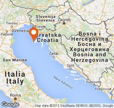 Cartina Stradale Italia Slovenia Croazia.Pola Pula Istria Croazia