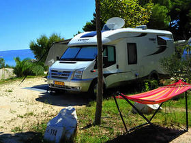 con camper in Croazia