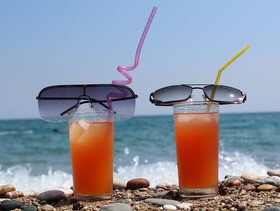 coktails in riva al mare