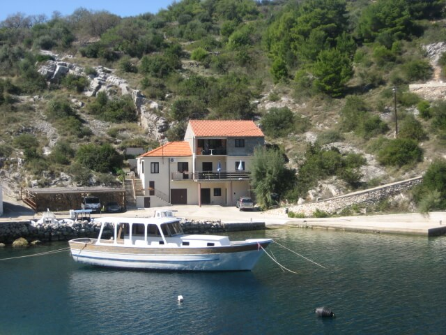Appartamento vicino al mare a sali 250 for Soggiorno in croazia