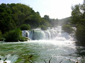 fiume Krka cascate