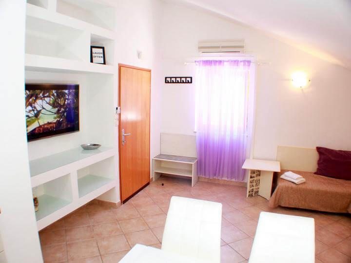 Lussino croazia appartamento in affitto mariza a4 for Soggiorno in croazia