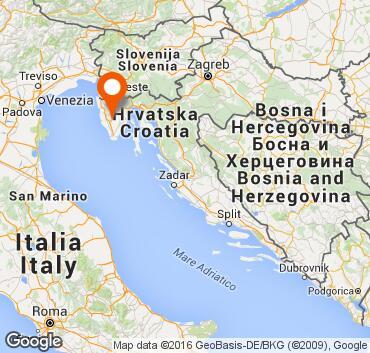 Cartina Italia Zone Balneari.Istria Visitare La Croazia Piu Vicina
