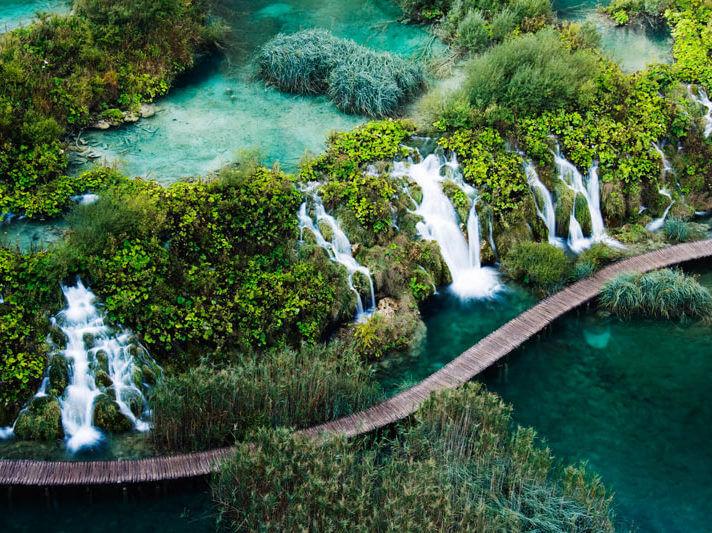 Il Parco Nazionale dei Laghi di Plitvice, Croazia