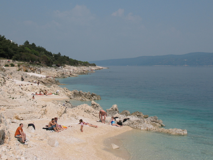 Foto spiagge rabac croazia 7