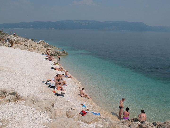 Foto spiagge rabac croazia 9