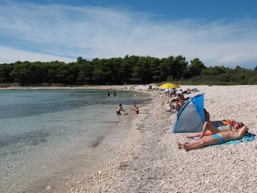 relax in spiaggia a Sakarun